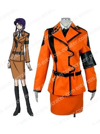 Code Geass Cécile Croomy Cosplay Uniform Costume any size.