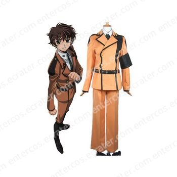 Code Geass Cosplay Costume 5 any size.