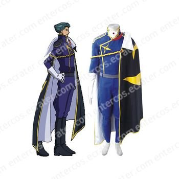 Code Geass Jeremiah Gottwald Cosplay Costume any size.