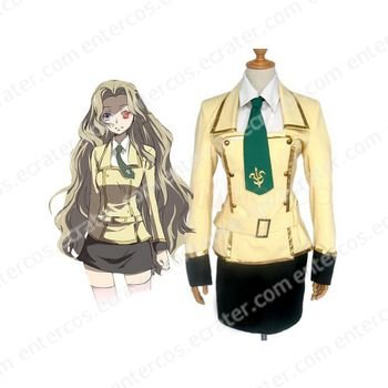 Code Geass Lelouch of the Rebellion Halloween Cosplay Costume any size.