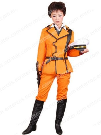 Code Geass Lloyd Asplund Cosplay Uniform Costume  any size.
