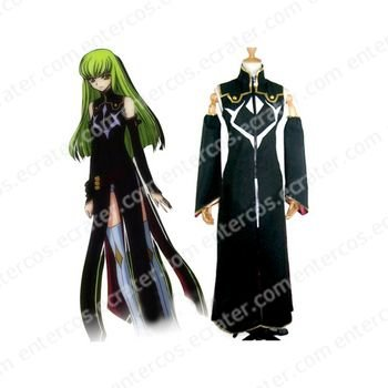Code Geass R2 C.C Cosplay Costume  any size.