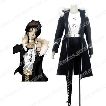 D.Gray Man Castro Cosplay Costume any size.