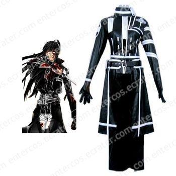 D.Gray Man Kanda Yuu Cosplay Costume  any size.