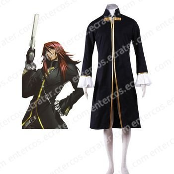 D.Gray-man Cross Maria Cosplay Costume  any size.