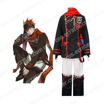 D.Gray-man Lavi Cosplay Costume  any size.