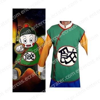 Dragon Ball Chiao-tzu Cosplay Costume  any size.