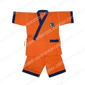 Dragon Ball Practice Suit Cosplay Costume  any size.
