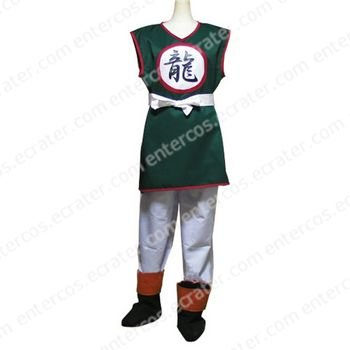 Dragon Ball Yamcha Cosplay Costume    any size.