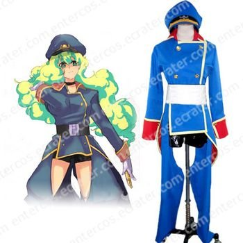 Macross Frontier Galactic Nymph Cosplay Costume  any size.
