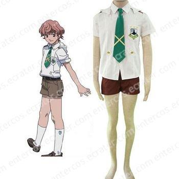 Macross Frontier Mihoshi Academy III Uniform Cosplay Costume   any size.