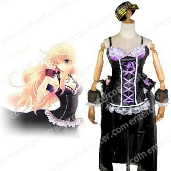 Macross Frontier Sheryl Nome Cosplay Costume 2   any size.