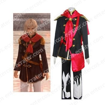 Final Fantasy Agito XIII Male Uniform Halloween Cosplay Costume any size.