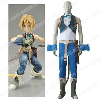 Final Fantasy IX Zidane Tribal Cosplay Costume  any size.