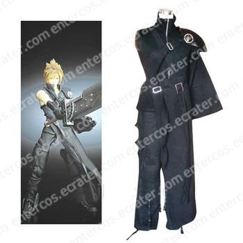 Final Fantasy VII Cloud Halloween Cosplay Costume any size.