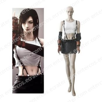 Final Fantasy VII Tifa Lockhart Cosplay Costume  any size.