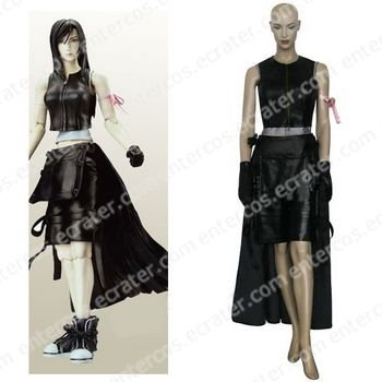 Final Fantasy VII Tifa Lockhart Halloween Cosplay Costume  any size.