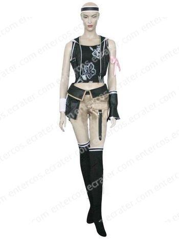 Final Fantasy VII Yuffie Kisaragi Halloween Cosplay Costume any size.
