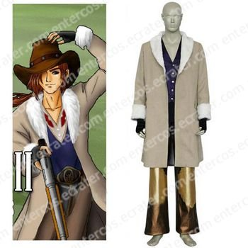 Final Fantasy VIII Irvine Kinneas Cosplay Costume any size.