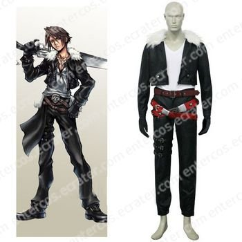 Final Fantasy VIII Squall Halloween Cosplay Costume  any size.