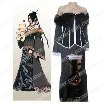 Final Fantasy X Lulu Halloween Cosplay Costume  any size.