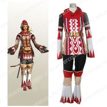 Final Fantasy XI 11 White Mage Halloween Cosplay Costume  any size.