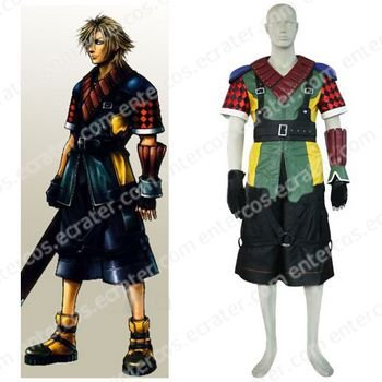 Final Fantasy XII Shuyin Halloween Cosplay Costume  any size.