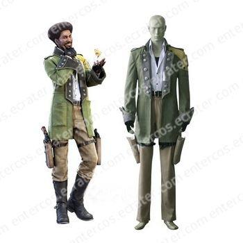 Final Fantasy XIII Sazh Katzroy Halloween Cosplay Costume  any size.