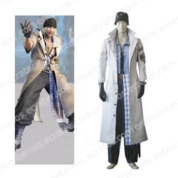 Final Fantasy XIII Snow Villiers Cosplay Costume any size.