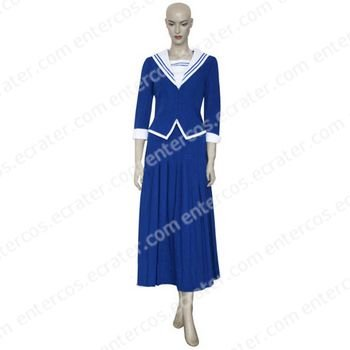 Fruits Basket Arisa Uotani's Uniform Cosplay Costume any size.