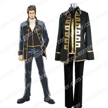 Gintama Gold Soul Cosplay Costume  any size.