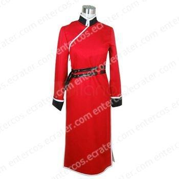 Gintama Silver Soul Kagura Cosplay Costume any size.