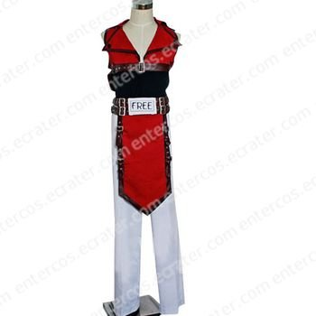 Guilty Gear Sol Badguy Cosplay Costume  any size.