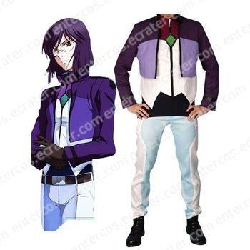Gundam Tieria Erde Cosplay Costume  any size.