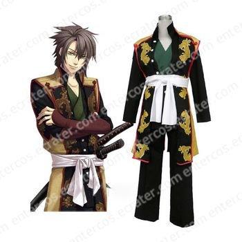 Haku�ki Souji Okita Cosplay Costume  any size.