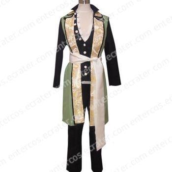 Hakuouki Shinsengumi Kitan Nagakura Shinpachi Cosplay Costume any size.