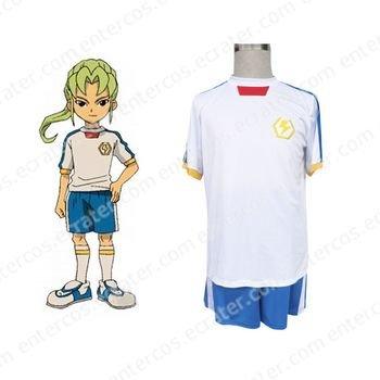 Inazuma Eleven Inazuma Japan Summer Soccer Uniform Cosplay Costume  any size