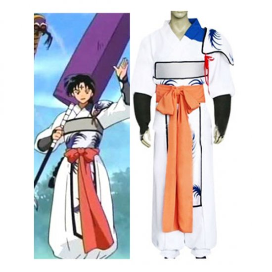 InuYasha Bankotsu Cosplay Costume  any size