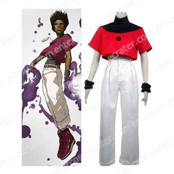 The King of Fighters Chris Cosplay Costume   any size