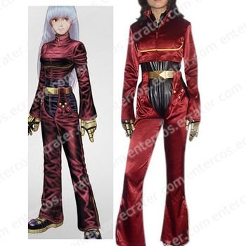 The King Of Fighters Kula Diamond Cosplay Costume    any size