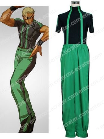 The King Of Fighters Ramon Cosplay Costume  any size
