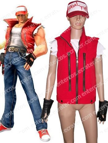 The King Of Fighters Terry Bogard Cosplay Costume  any size
