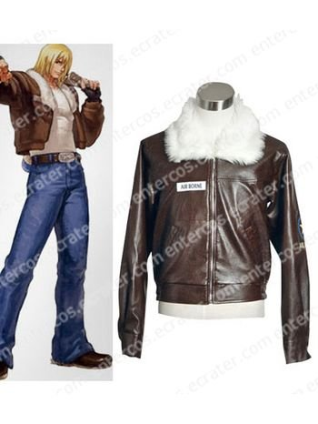 The King Of Fighters Terry Bogard Halloween Cosplay Costume  any size