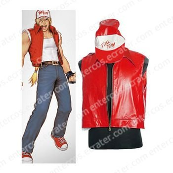 The King Of Fighters Terry Cosplay Costume  any size