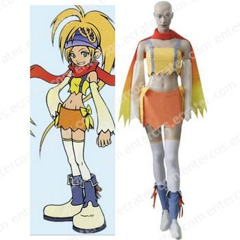 Kingdom Hearts 2 Fairy Rikku Halloween Cosplay Costume any size