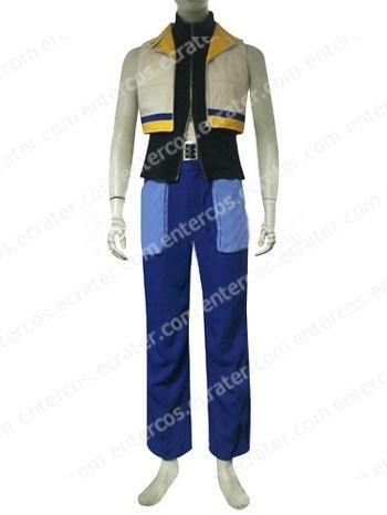 Kingdom Hearts II Riku Halloween Cosplay Costume  any size