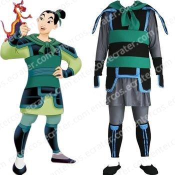 Kingdom Hearts Mulan Cosplay Costum  any size