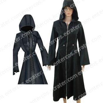 Kingdom Hearts Organization XIII Halloween Cosplay Costume any size