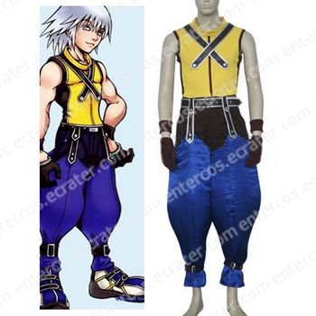Kingdom Hearts Riku Halloween Cosplay Costume any size