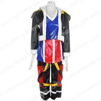 Kingdom Hearts Sora Halloween Cosplay Costume 1 any size